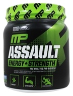 Muscle Pharm - Assault Sport Series Energy + Strength Blue Raspberry - 12.17 oz.