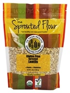 To Your Health - Organic Gluten Free Sprouted Lentils - 16 oz.
