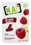 Varas de frutas Framboesa de maçã - 1.06 oz. by Nature Addicts