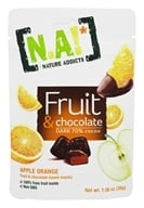 Natures Addicts - Fruit and Chocolate Snacks Apple Orange - 1.06 oz.