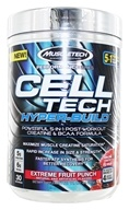 Muscletech Products - Cell Tech Performance Series Hyper-Build Extreme Fruit Punch - 1.07 lbs.