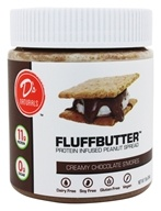 D's Naturals - Fluffbutter Protein Infused Peanut Butter Creamy Chocolate ...