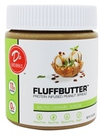 D's Naturals - Fluffbutter Protein Infused Peanut Spread Salted Caramel Sundae - 10 oz.