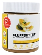 D's Naturals - Fluffbutter Protein Infused Peanut Spread Gooey Bananas Foster - 10 oz.
