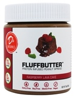 D's Naturals - Fluffbutter Protein Infused Peanut Spread Raspberry Lava Cake - 10 oz.