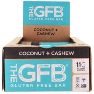 The GFB - The Gluten Free Bars Box Coconut Cashew Crunch - 12 Bars