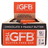 The GFB - The Gluten Free Bars Box Chocolate Peanut Butter - 12 Bars