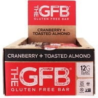 The GFB - The Gluten Free Bars Box Cranberry Toasted Almond - 12 Bars