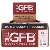 The GFB - The Gluten-Free Bars Box Dark Chocolate Coconut - 12 Bars