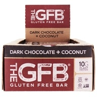 The GFB - The Gluten Free Bars Box Dark Chocolate Coconut - 12 Bars