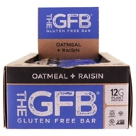 The GFB - The Gluten Free Bars Box Oatmeal Raisin - 12 Bars