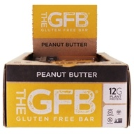 The GFB - The Gluten-Free Bars Box Peanut Butter - 12 Bars