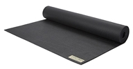 JadeYoga - Harmony Yoga Mat Black - 68 in.