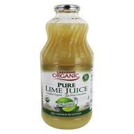 Lakewood - Organic Pure Juice Lime - 32 oz.