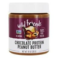 Wild Friends - All Natural Peanut Butter Protein+ Chocolate - 10 oz.