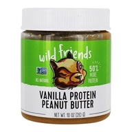 Wild Friends - All Natural Peanut Butter Protein+ Vanilla - 10 oz.