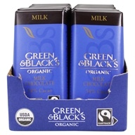 Green & Black's Organic - Chocolate Bars Box 34% Cacao Milk Chocolate - 20 Bars