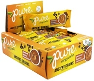 PureBar - Pure Organic Ancient Grains Crispy Bars Box Peanut Butter Chocolate - 12 Bars