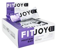 FitJoy Nutrition - Protein Bar Chocolate Iced Brownie - 12 Bars