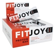 FitJoy Nutrition - Protein Bar Frosted Cinnamon Roll - 12 Bars