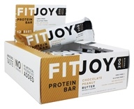FitJoy Nutrition - Protein Bar Chocolate Peanut Butter - 12 Bars