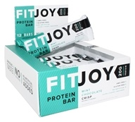 FitJoy Nutrition - Protein Bar Mint Chocolate Crisp - 12 Bars