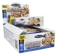 Muscletech Products - Mission1 Clean Protein Bars Box Cookies & Cream - 12 Bars