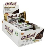 ISS Research - OhYeah! Good Grab Protein Bars Box Almond Fudge Brownie - 12 Bars