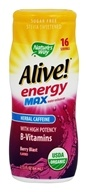 Nature's Way - Organic Alive Energy Max Water Enhancer Berry Blast - 2.13 oz.