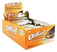 ISS Research - OhYeah! Good Grab Protein Bars Box Chocolate Caramel Candies - 12 Bars