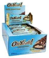 ISS Research - OhYeah! Good Grab Protein Bars Box Cookie Caramel Crunch - 12 Bars