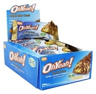ISS Research - OhYeah! Good Grab Protein Bars Box Peanut Butter Crunch - 12 Bars