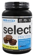PEScience - Select Protein Powder Chocolate Peanut Butter Cup - 1.93 lbs.