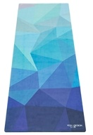 Yoga Design Lab - Commuter Yoga Mat Geo Blue - 70 in. Formerly Combo Lite