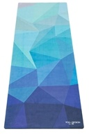 Yoga Design Lab - Combo Yoga Mat Geo Blue - 70 in.