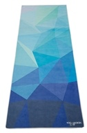 Yoga Design Lab - Hot Yoga Towel Geo Blue - 72 in.