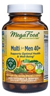 MegaFood - Multi for Men 40+ - 120 Tablets