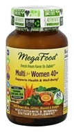 MegaFood - Multi for Women 40+ - 60 Tablets