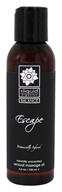 Sliquid - Balance Sensual Massage Oil Escape Naturally Unscented - 4.2 oz.