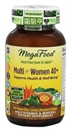 MegaFood - Multi for Women 40+ - 120 Tablets
