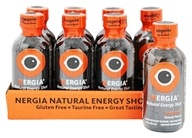 Nergia - Natural Energy Shots Tangerine - 8 Bottle(s)