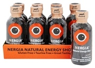 Nergia - Natural Energy Shots Peach - 8 Bottle(s)