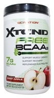 Scivation - Xtend Free BCAAs 30 Servings Crisp Apple - 15.4 oz.
