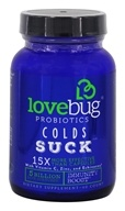 LoveBug Probiotics - Colds Suck Immune Boost Probiotic - 60 Tablets