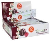 D's Naturals - No Cow Bar Dark Raspberry Truffle - 12 Bars
