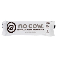 Protein Bar Chocolate Fudge Brownie - 2.12 oz. by No Cow