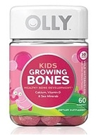 Olly - Kids Growing Bones Wild Watermelon - 60 Gummies