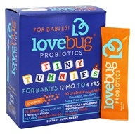 LoveBug Probiotics - Tiny Tummies Probiotic for Infants - 30 Packet(s)
