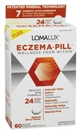 Eczema Pill Healthy Skin Formula Natural Berry - 60 Quick Dissolve Tablets by Loma Lux Laboratories