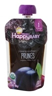 HappyFamily - HappyBaby Organic Clearly Crafted Stage 1 Baby Food 4+ Months Prunes - 3.5 oz.